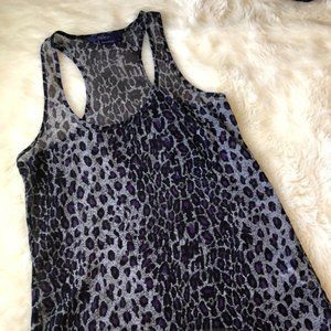 Miley Cyrus Max Azria Animal Print Racer B…